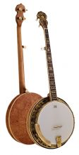 Barnes and Mullins Banjo 5 String Troubadour Model  BJ500M